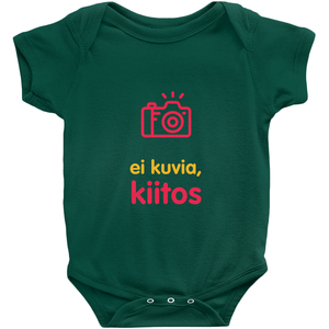 No Photos Onesie (Finnish)