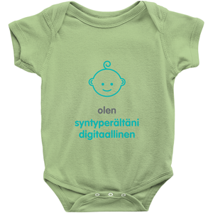 Digital native Onesie(Finnish)