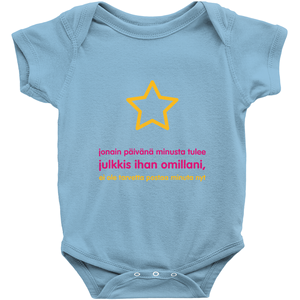 I'll be famous Onesie(Finnish)