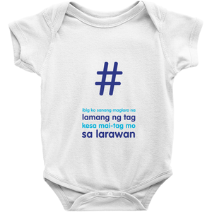 Tagged  Onesie(Filipino)