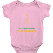 Don't Post me Onesie (Indonesian)