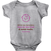 Let me decide Onesie (Indonesian)