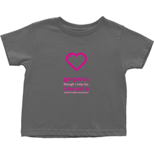 Gorgeous Toddler T-Shirts (English)