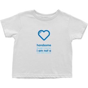 Handsome Toddler T-Shirts (English)