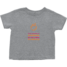 I asked for a Smartphone Toddler T-Shirts (French)