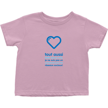 Handsome Toddler T-Shirts (French)
