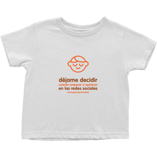 Let me Decide Toddler T-Shirts (Spanish)