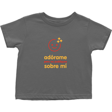 Adore me Toddler T-Shirts (Spanish)