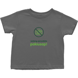 No Paparazzi Toddler T-Shirts (Filipino)