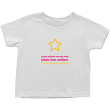 I'll be famous Toddler T-Shirts (Finnish)