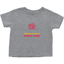 No Photos Toddler T-shirt (Indonesian)