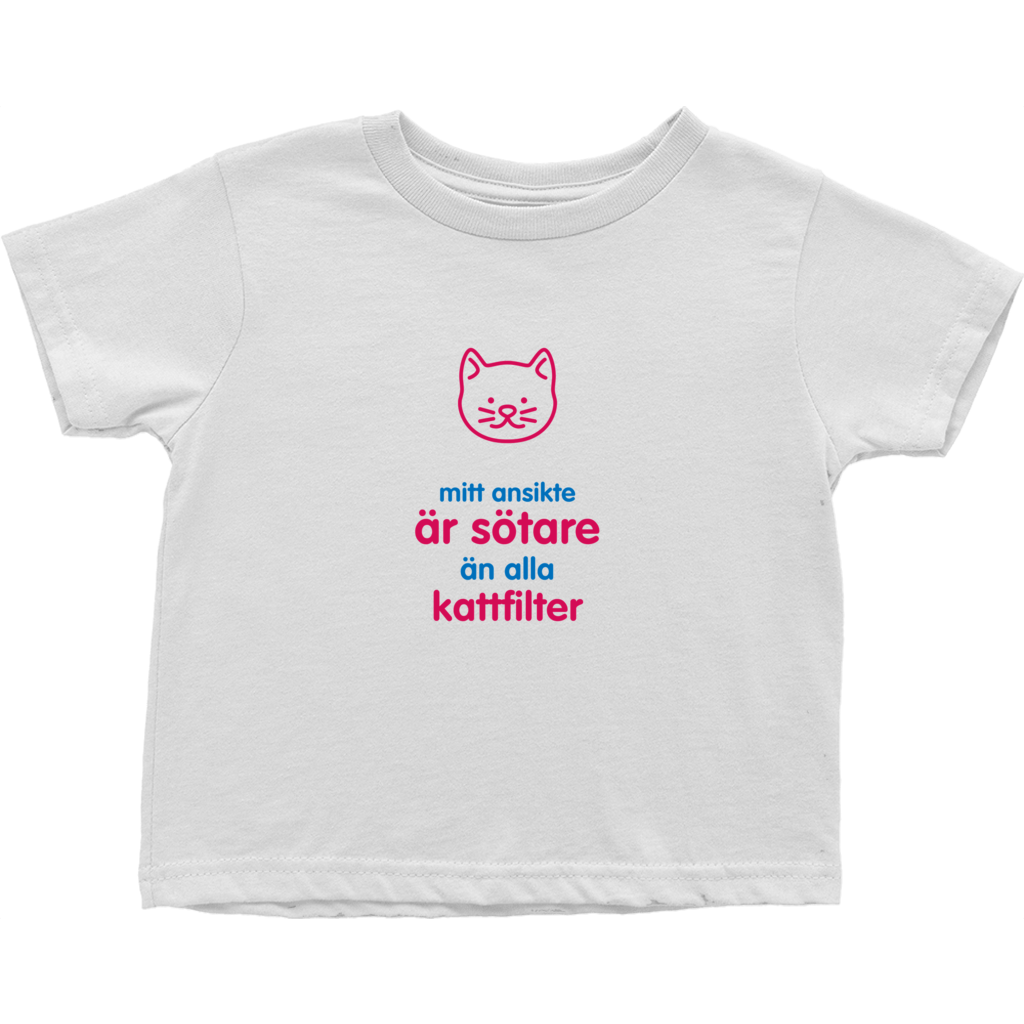 Kitty Toddler T-Shirts (Swedish)