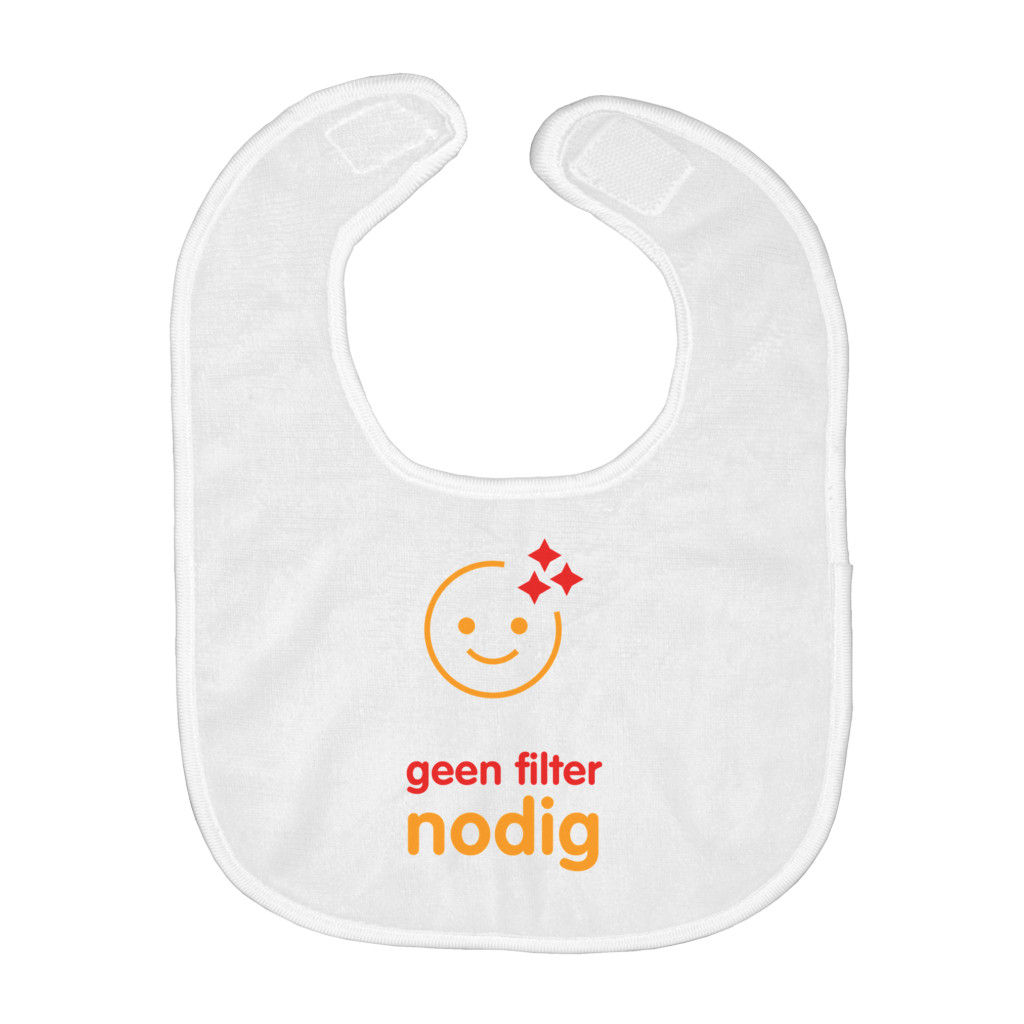No Filter needed Bib (Dutch)