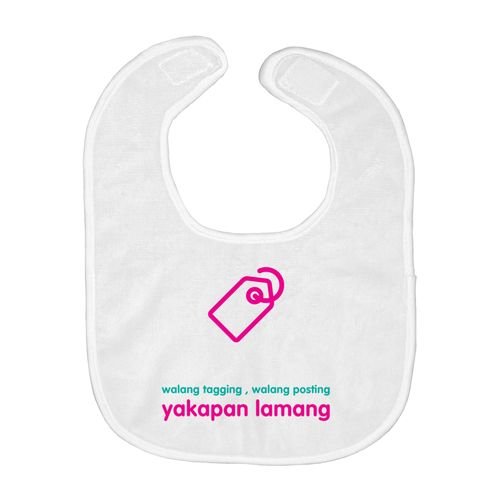 No Tagging Bib (Filipino)