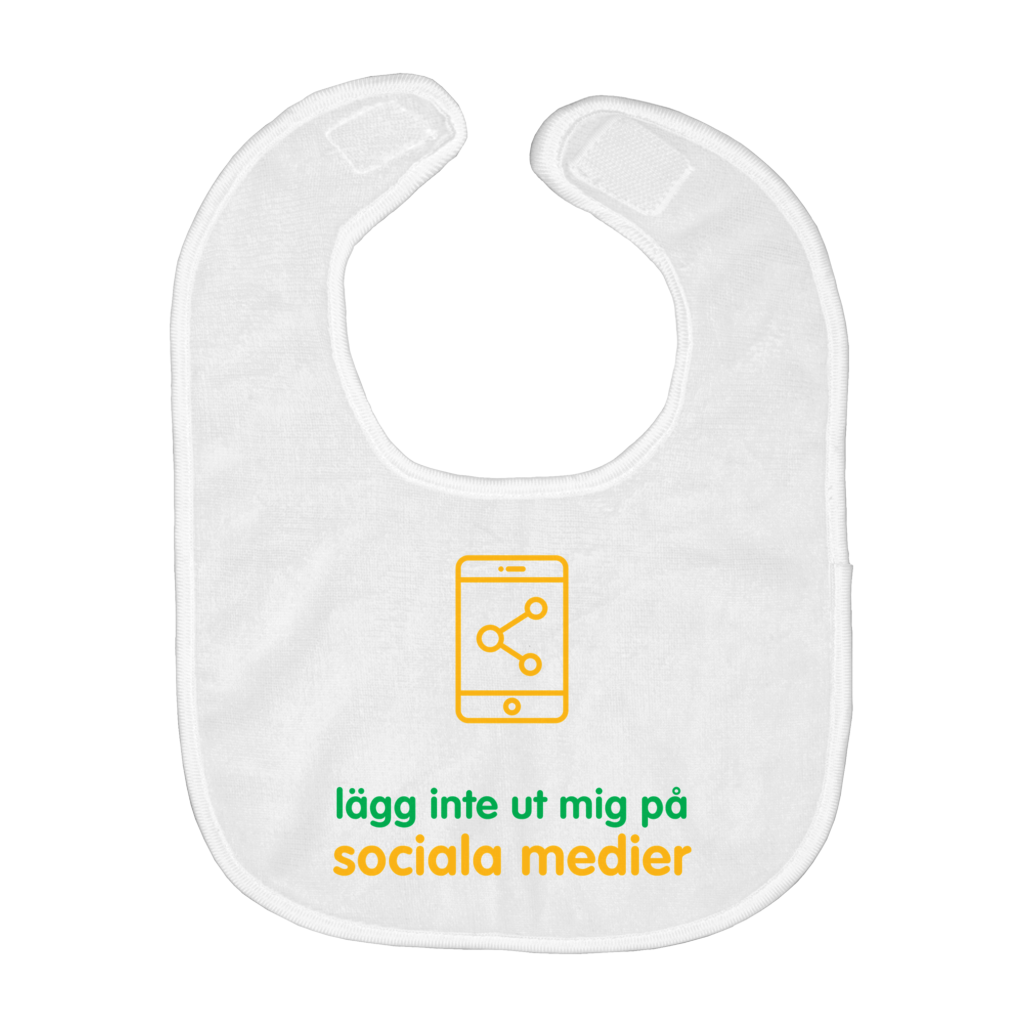 Don't Post me Bib (Swedish)