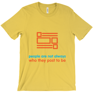 People Adult T-shirt (English)