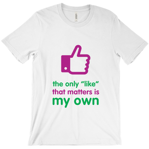 Like Adult T-shirt (English)