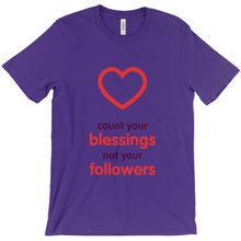 Blessings Adult T-shirt (English)