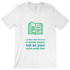History Adult T-shirt (English)