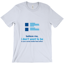 Believe Adult T-shirt (English)