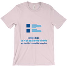 Believe Adult T-shirt (French)