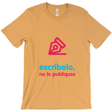 Write Adult T-shirt (Spanish)