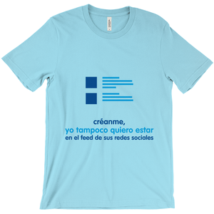Believe  Adult T-shirt (Spanish)