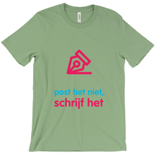 Write Adult T-shirt (Dutch)