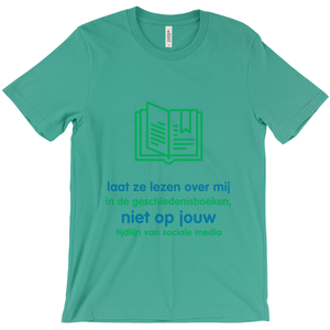 History  Adult T-shirt (Dutch)