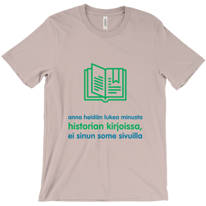 History Adult T-shirt (Finnish)