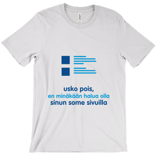 Believe Adult T-shirt (Finnish)