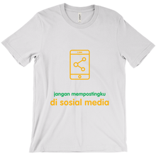 Don't Post Adult T-shirt (Indonesian)