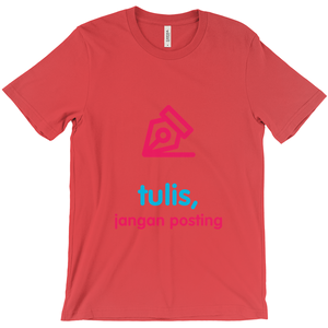 Write Adult T-shirt (Indonesian)