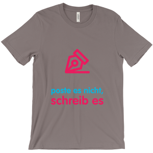 Write Adult T-shirt (German)
