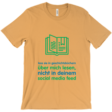 History Adult T-shirt (German)