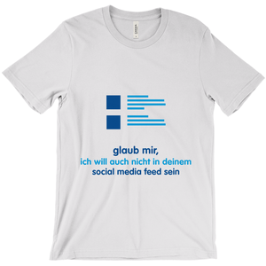 Believe Adult T-shirt (German)