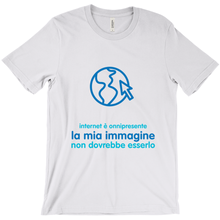 Internet is Ubiquitous Adult T-shirt (Italian)
