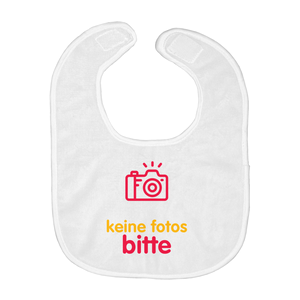 No Photos Bib (German)