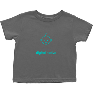 Digital native Toddler T-Shirts (German)