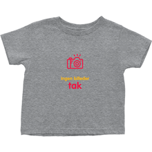 No Photos Toddler T-shirts (Danish)