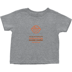 Let me Decide Toddler T-Shirts (Danish)