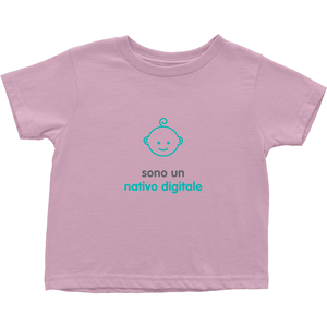 Digital native Toddler T-Shirts (Italian)