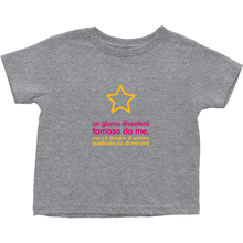I'll be famous Toddler T-Shirts (Italian)