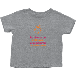 I asked for a Smartphone Toddler T-Shirts (Italian)