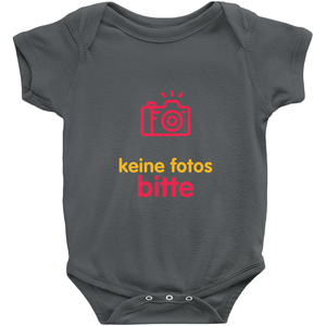 No Photos Onesie (German)