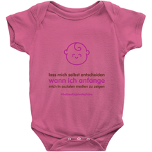 Let me decide Onesie (German)
