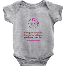 Let me decide Onesie (Danish)