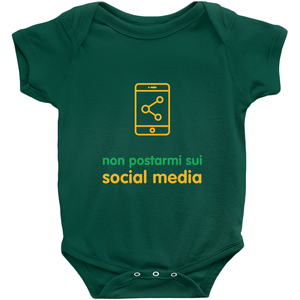 Don't Post me Onesie (Italian)