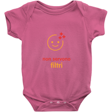 No filter needed Onesie (Italian)