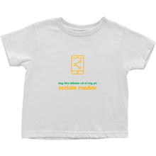 Don't Post me Toddler T-Shirts (Danish)